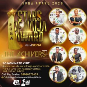 {Sponsored} Are You Ready For STARS OF NAIJA Awards 2020?